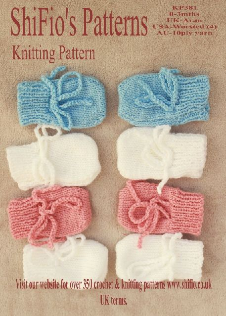 Free Baby Mittens Knitting Pattern Shifios Blog